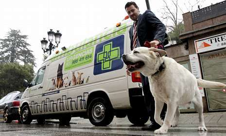 La primera ambulancia para mascotas